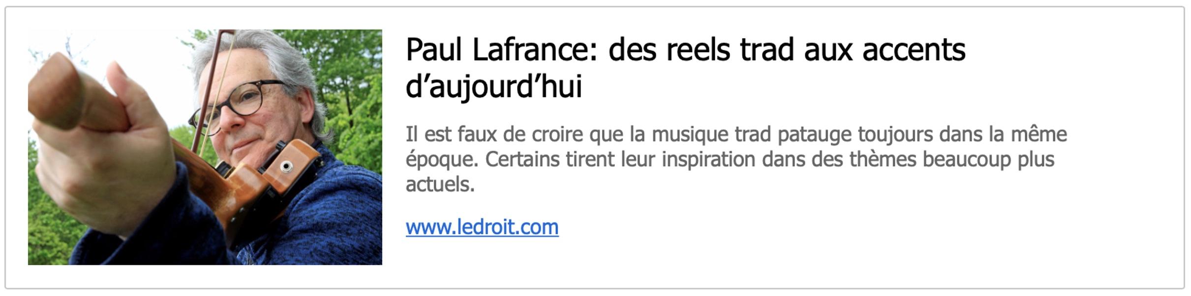 Article LeDroit